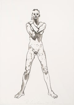 Figure Study (Standing) by Robert Graham
