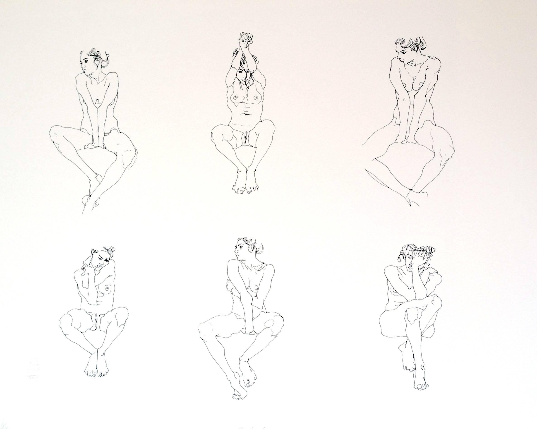 untitled (female nude - white background)