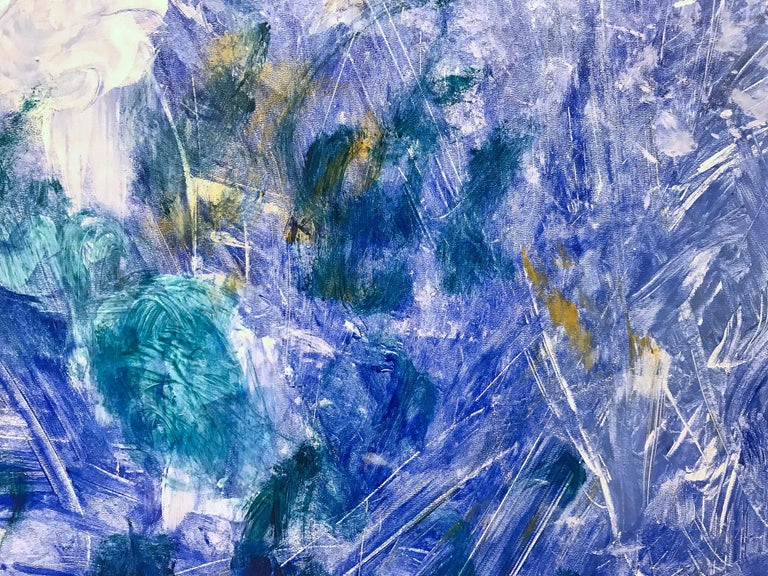 Beyond the Mountain in Blue For Sale 6