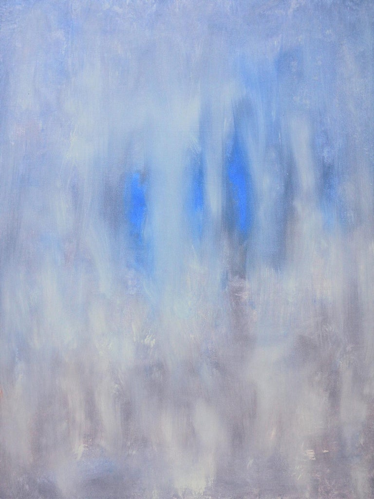 "Robert Gregory Phillips Abstract Painting - ""Blue Passages"" Contemporary Acrylic Painting on Canvas"