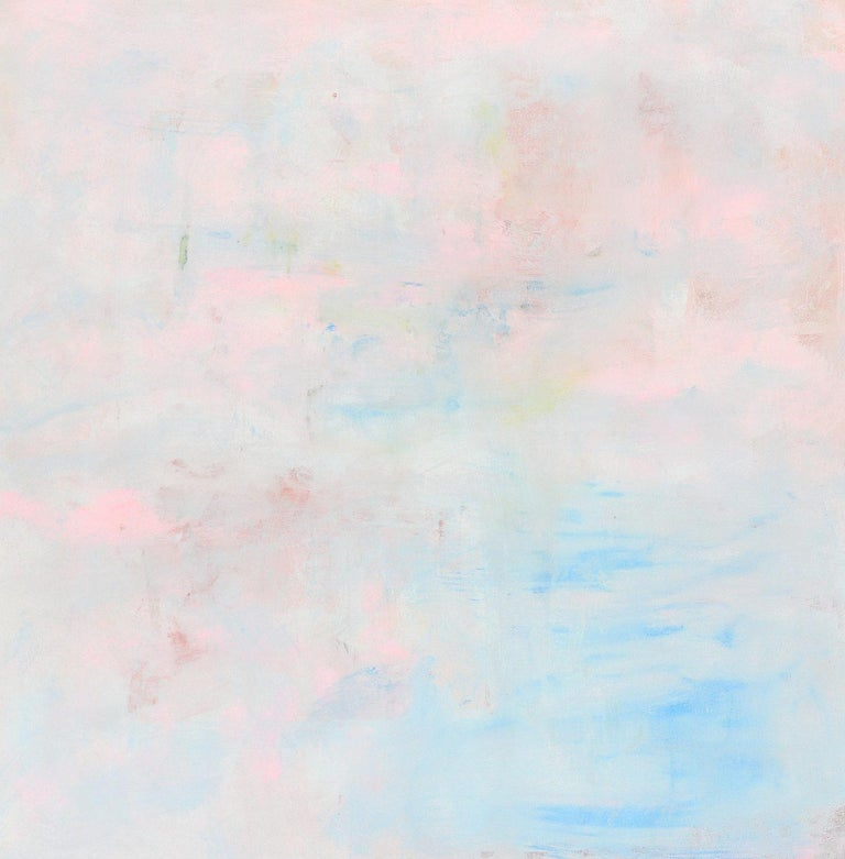 """Robert Gregory Phillips Abstract Painting - """"Clinging To A Cloud"""" Contemporary Acrylic Painting on Canvas"""