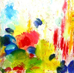 Clouds of Glory Touch Earth, Abstract Expressionistic Painting