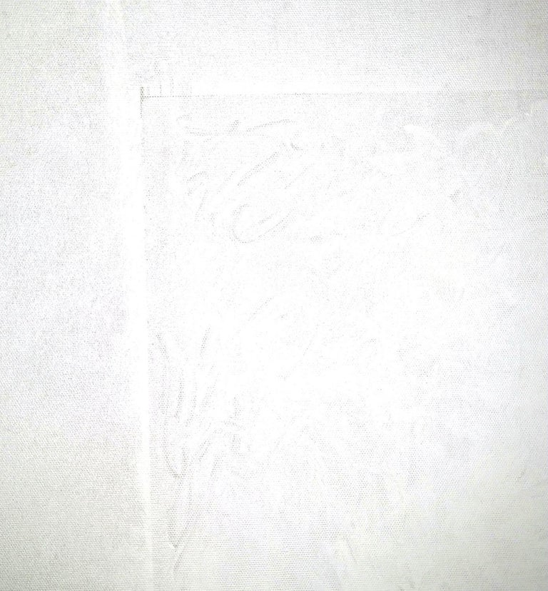 Conversion's Door In White - Painting by Robert Gregory Phillips