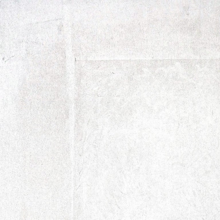 Conversion's Door In White - Gray Abstract Painting by Robert Gregory Phillips