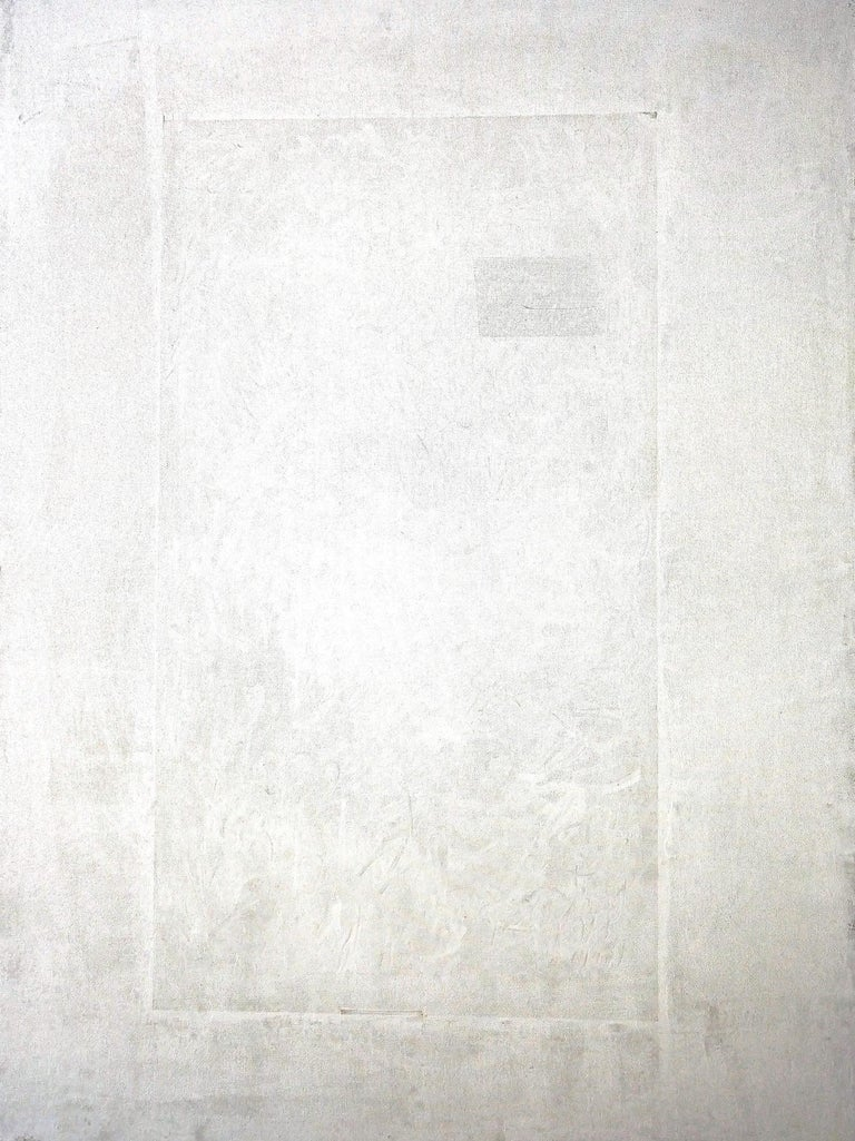 Robert Gregory Phillips Abstract Painting - Conversion's Door In White