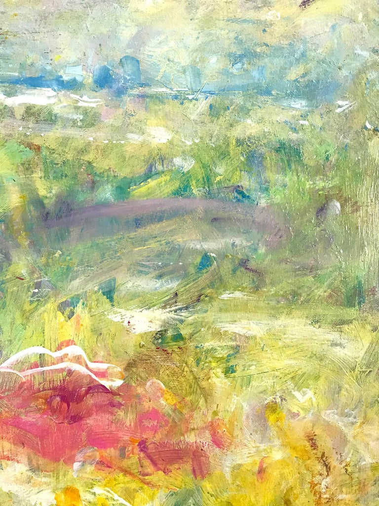 Through his use of color, texture and brush stroke, Robert vibrates the viewer with these strong emotional ties that he so longs to connect with nature and the spirit of the all-encompassing earth. This plays a primordial role when appreciating one