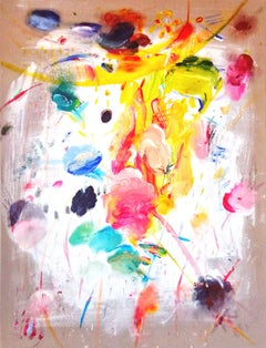 For I Am Gentle And Humble In Heart, Abstract Contemporary Painting