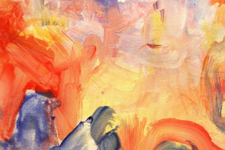 Love Languages - Abstract Expressionist Painting by Robert Gregory Phillips