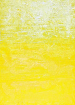 One Morning In Yellow, Abstract Contemporary Painting