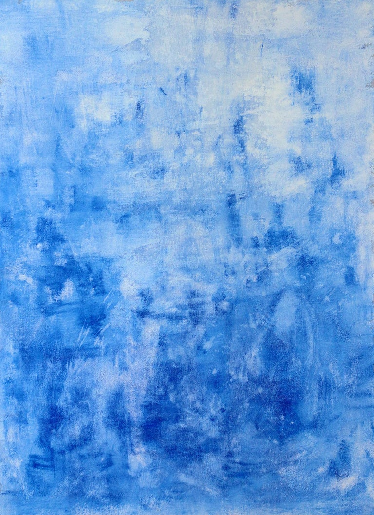 Robert Gregory Phillips Abstract Painting - Peace Blue
