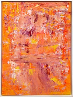 """""""The Pond in Golden Light"""" Contemporary Acrylic Painting in the style of Monet"""