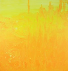 """Warm Morning Light"" Contemporary Acrylic Painting on Canvas"