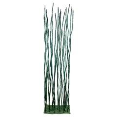 Robert Hansen Modern Bertoia Style Metal Reed Sculpture