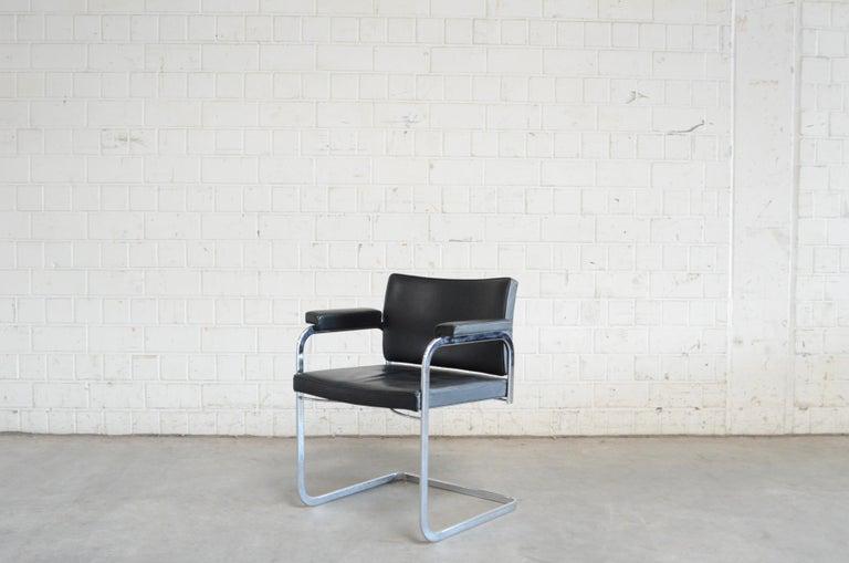 Robert Haussmann De Sede RH 305 Chair Black For Sale 3