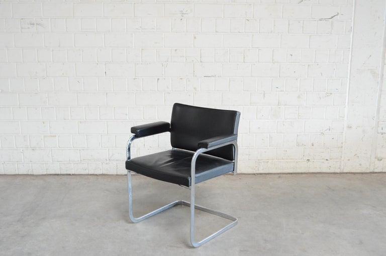 Robert Haussmann De Sede RH 305 Chair Black For Sale 4