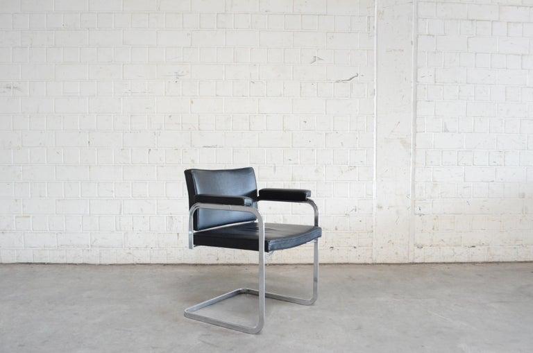 Robert Haussmann De Sede RH 305 Chair Black For Sale 5