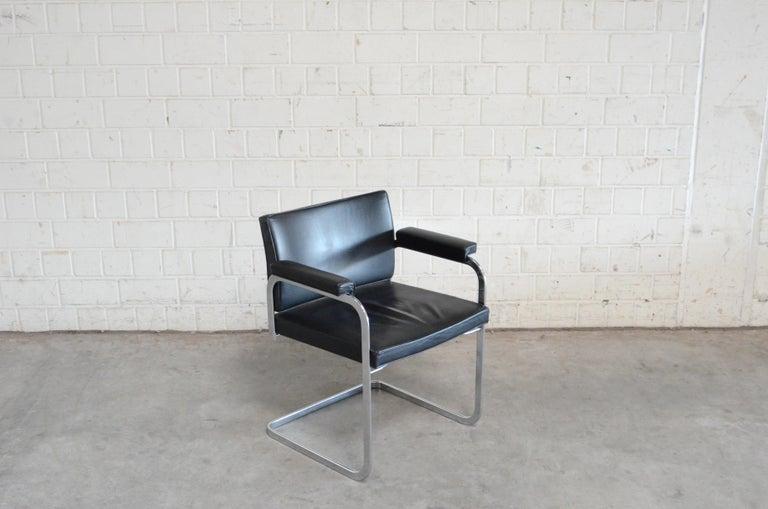 Robert Haussmann De Sede RH 305 Chair Black For Sale 6