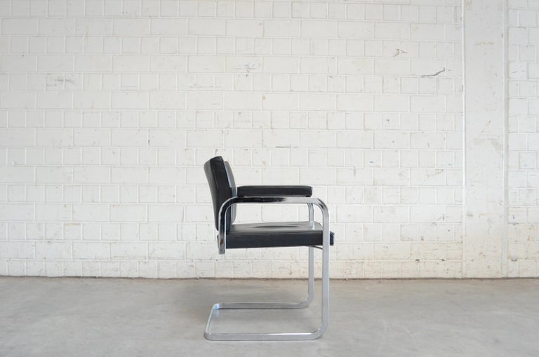 Robert Haussmann De Sede RH 305 Chair Black For Sale 7