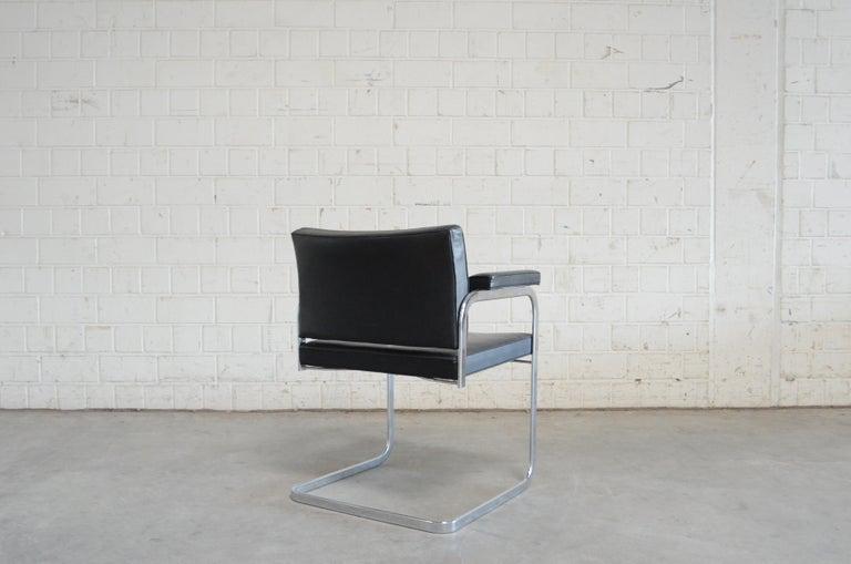 Robert Haussmann De Sede RH 305 Chair Black For Sale 8