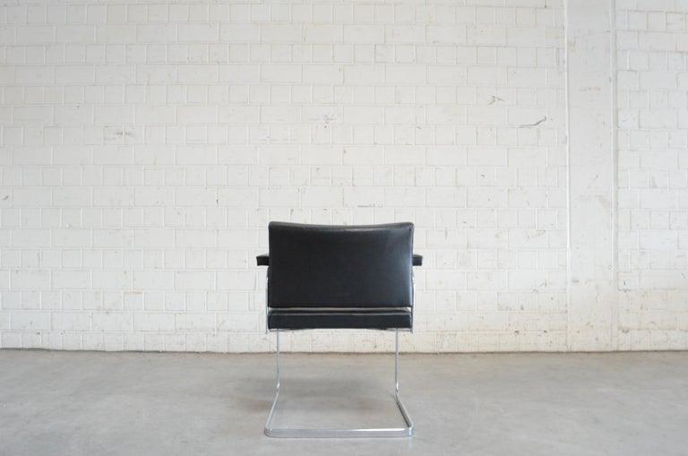 Robert Haussmann De Sede RH 305 Chair Black For Sale 9