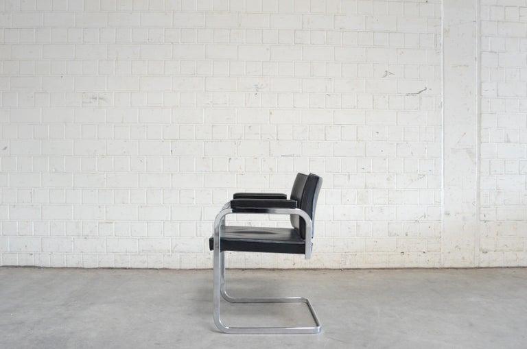Robert Haussmann De Sede RH 305 Chair Black For Sale 10