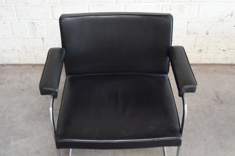 Robert Haussmann De Sede RH 305 Chair Black For Sale 11