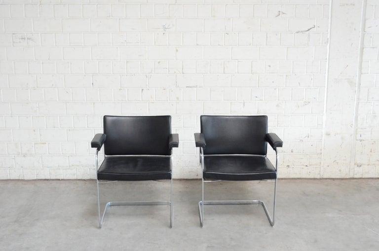 Swiss Robert Haussmann De Sede RH 305 Chair Black For Sale