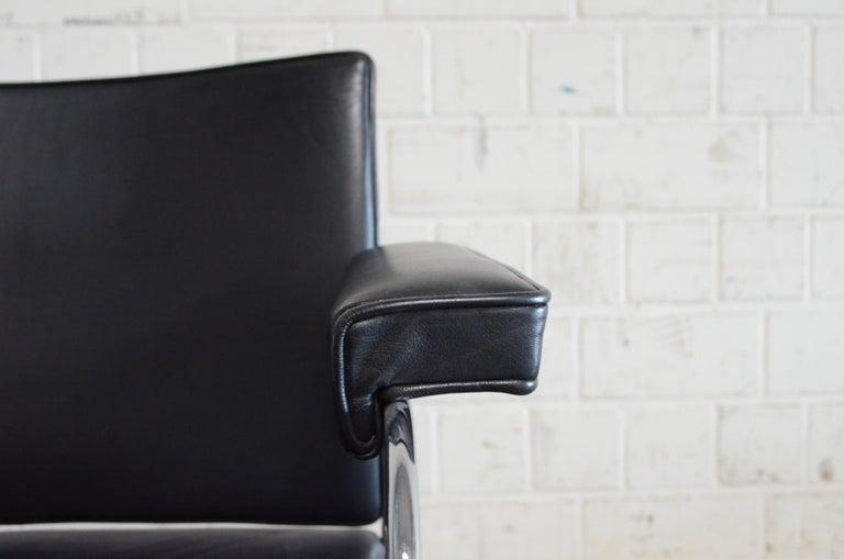 Robert Haussmann De Sede RH 305 Chair Black For Sale 2