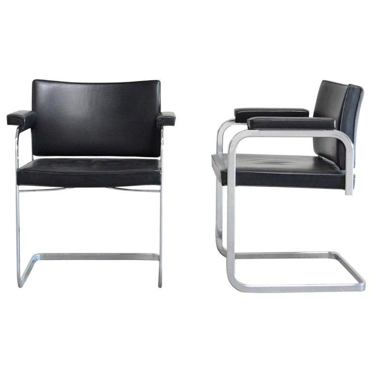 Robert Haussmann De Sede RH 305 Chair Black For Sale