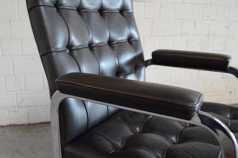 Robert Haussmann De Sede Rh 305 High Back Chair Black For Sale 6