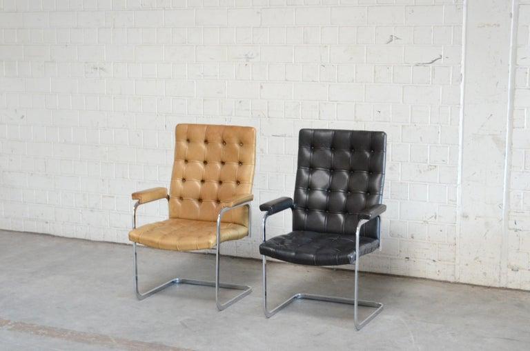 Robert Haussmann De Sede Rh 305 High Back Chair Black For Sale 9
