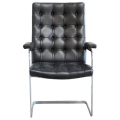 Robert Haussmann De Sede Rh 305 High Back Chair Black
