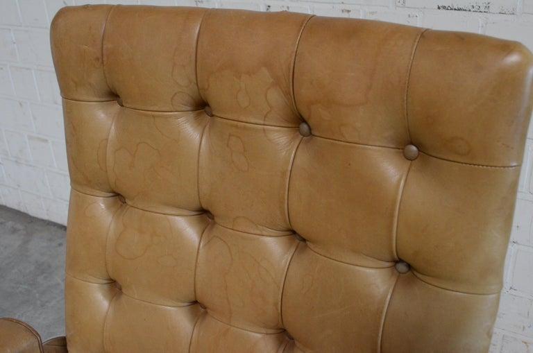 Robert Haussmann De Sede RH 305 High Back Chair Cognac For Sale 8
