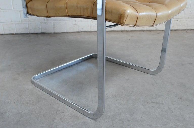 Robert Haussmann De Sede RH 305 High Back Chair Cognac For Sale 10