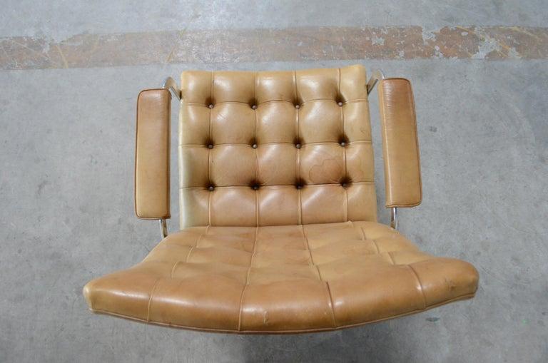 Robert Haussmann De Sede RH 305 High Back Chair Cognac For Sale 11