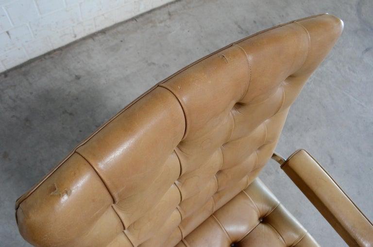Robert Haussmann De Sede RH 305 Highback Chair Cognac For Sale 12