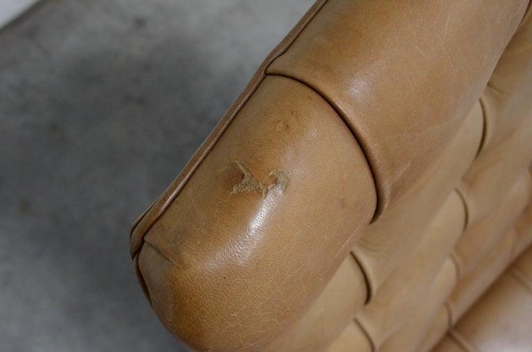 Robert Haussmann De Sede RH 305 High Back Chair Cognac For Sale 13
