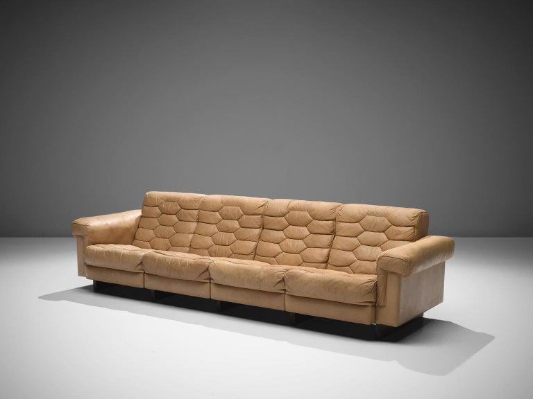 Swiss Robert Haussmann for De Sede 'DS-P' Sofa For Sale