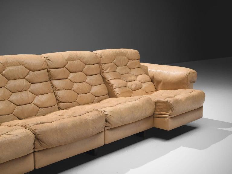 Robert Haussmann for De Sede 'DS-P' Sofa In Good Condition For Sale In Waalwijk, NL