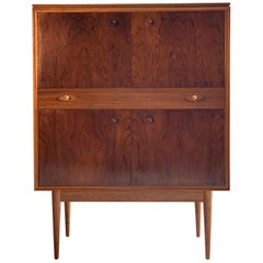 Robert Heritage for Archie Shine Rosewood Cocktail Cabinet Hamilton Range 'No 2'