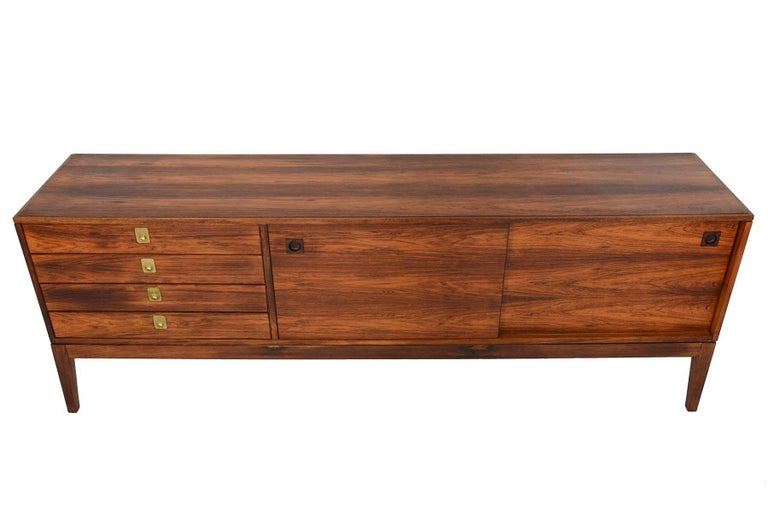 English Robert Heritage for Archie Shine Rosewood Credenza For Sale
