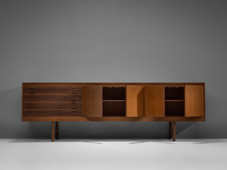 British Robert Heritage for Archie Shine Sideboard in Walnut For Sale