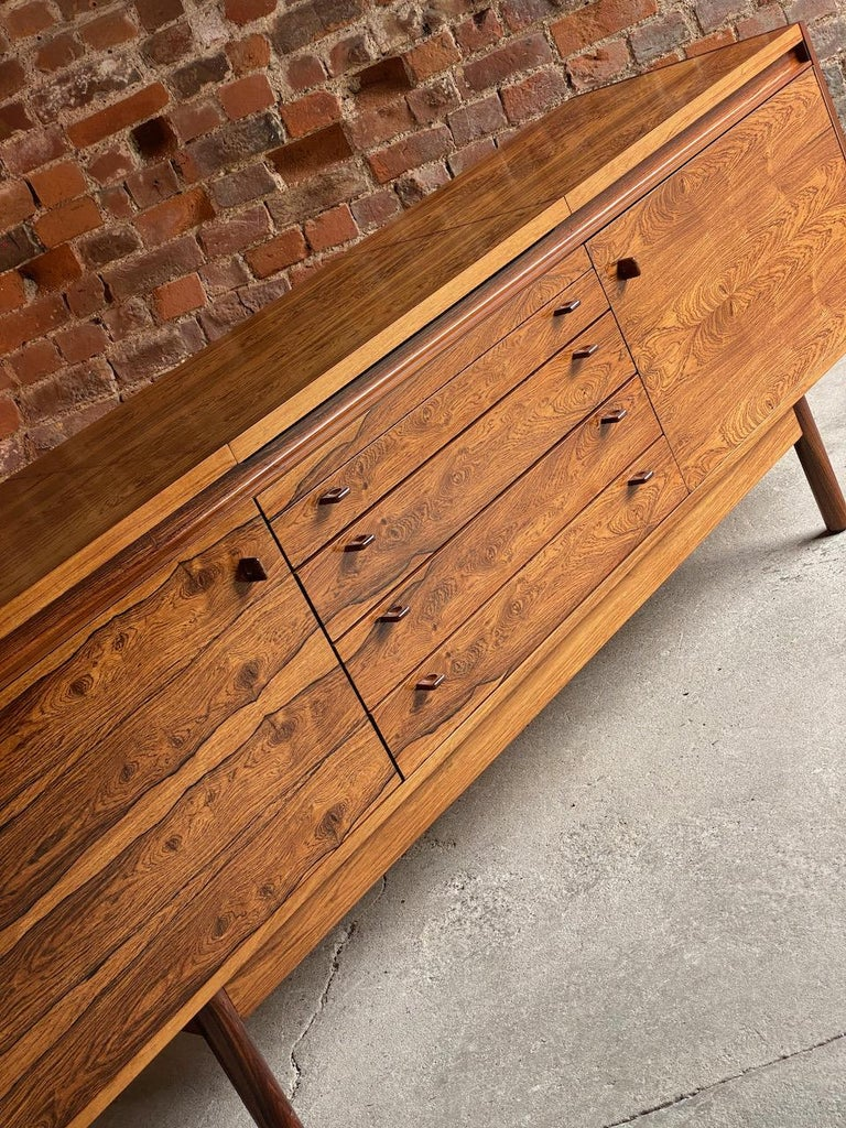 Robert Heritage Granville Rosewood Sideboard by Archie Shine, Circa 1969 5