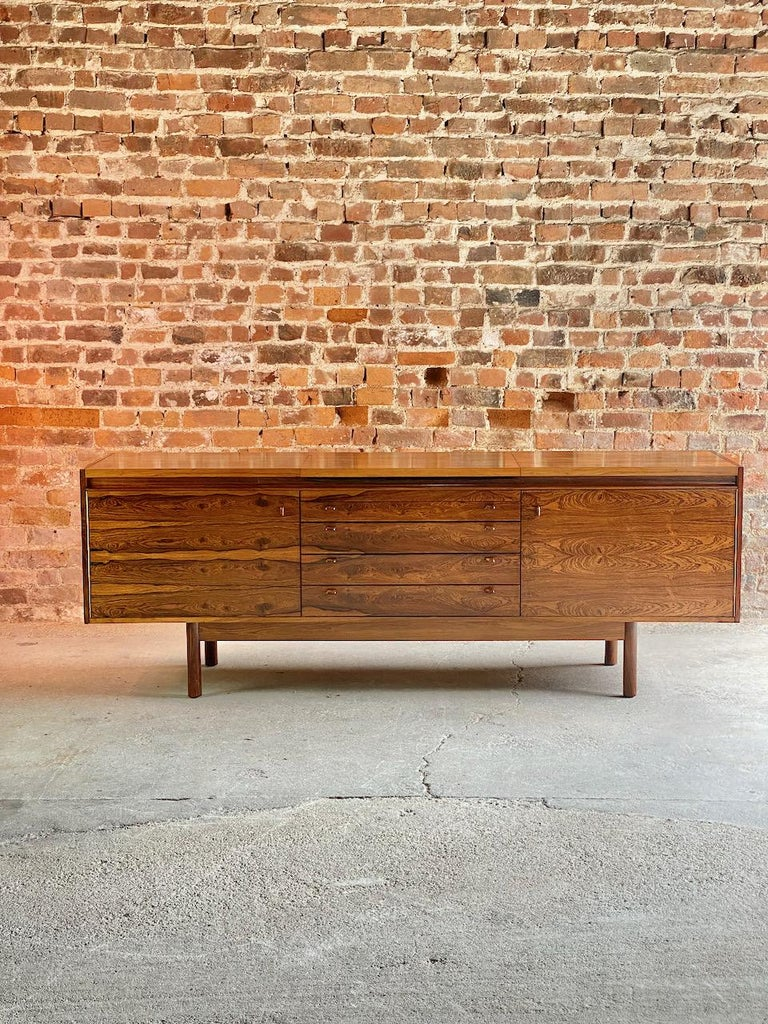 Mid-Century Modern Robert Heritage Granville Rosewood Sideboard by Archie Shine, Circa 1969