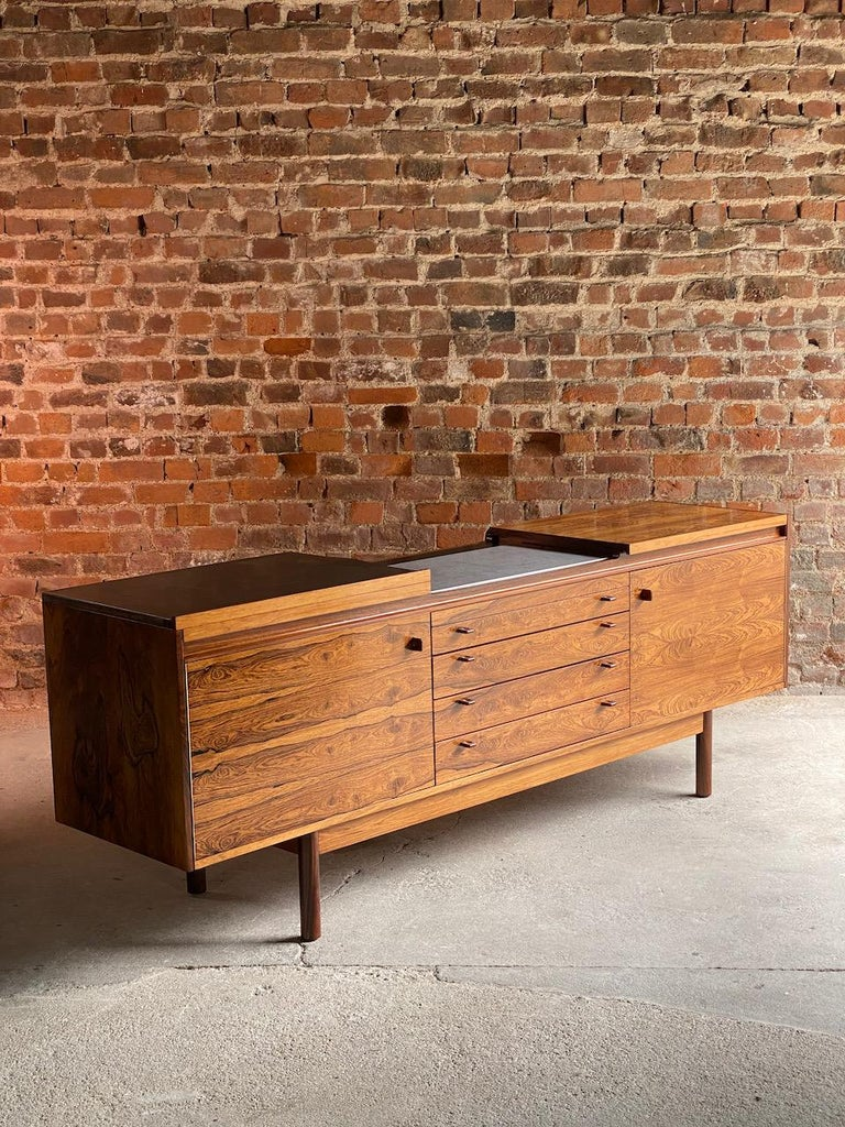 Mid-20th Century Robert Heritage Granville Rosewood Sideboard by Archie Shine, Circa 1969