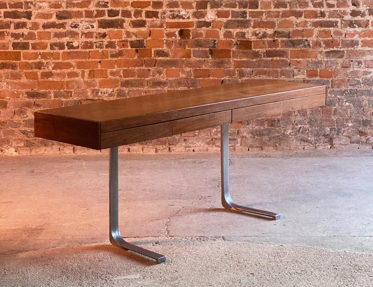 Robert Heritage Planar Teak Console Table for Archie Shine, circa 1960s 7