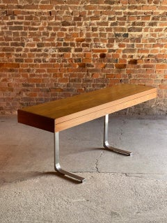 Robert Heritage Planar Teak Console Table for Archie Shine, circa 1960s