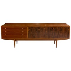 Robert Heritage Rosewood and Teak Hamilton Sideboard Credenza by Archie Shine