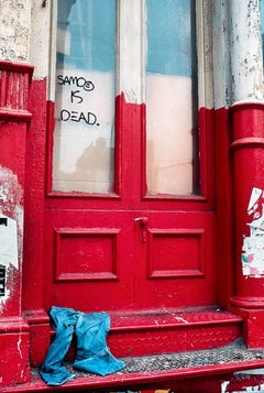 Basquiat SAMO IS DEAD photograph 1981 (Basquiat street art)