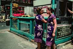 'Flowers,' New York, NY, 1981 (New York street photography)